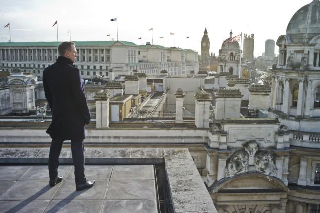 007 Skyfall, film con Daniel Craig, Judi Dench e Javier Bardem. Set cinematografici a Londra