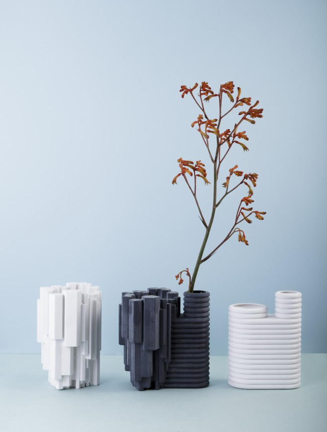 1+1+1 edition VII – Vases by Hugdetta from Iceland, Petra Lilja from Sweden and Aalto+Aalto from Finland