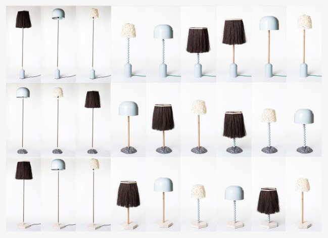 1+1+1 (2015) Lamps by Hugdetta from Iceland, Petra Lilja from Sweden and Aalto+Aalto from Finland