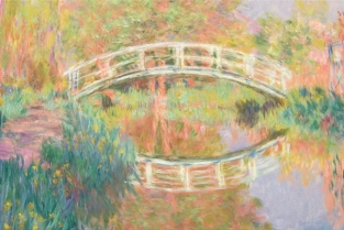 Claude Monet, Il ponte giapponese (particolare) Philadelphia Museum of Art