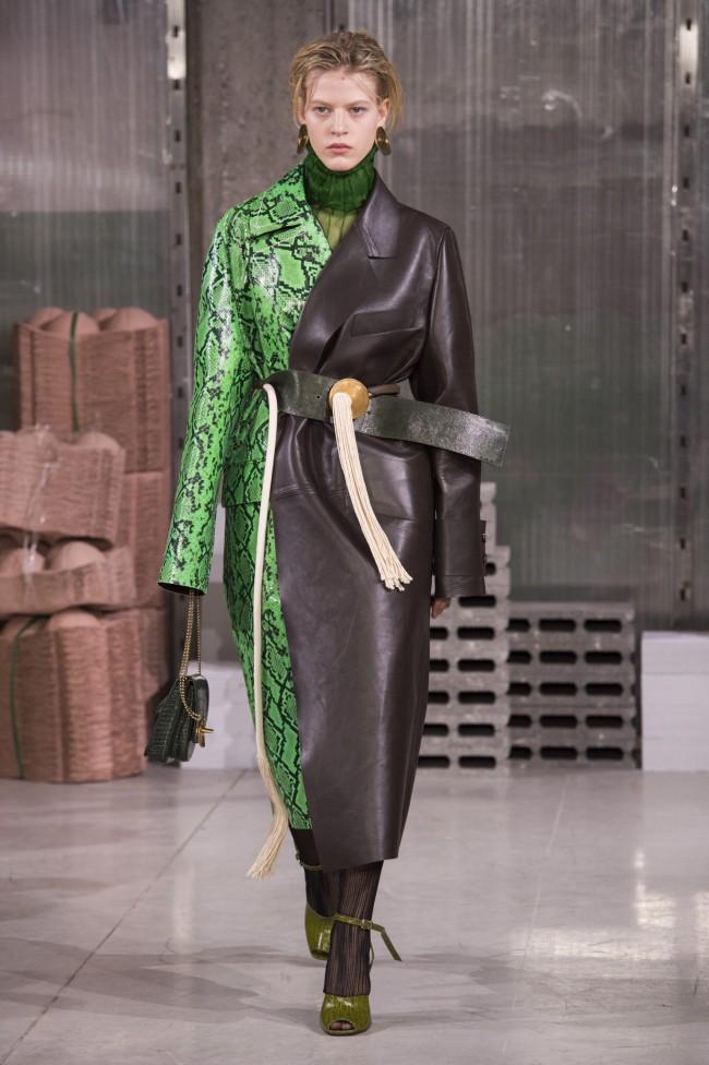 Marni Autunno Inverno 18-19. Tendenze moda donna: l'animalier in passerella alla Milano Fashion Week