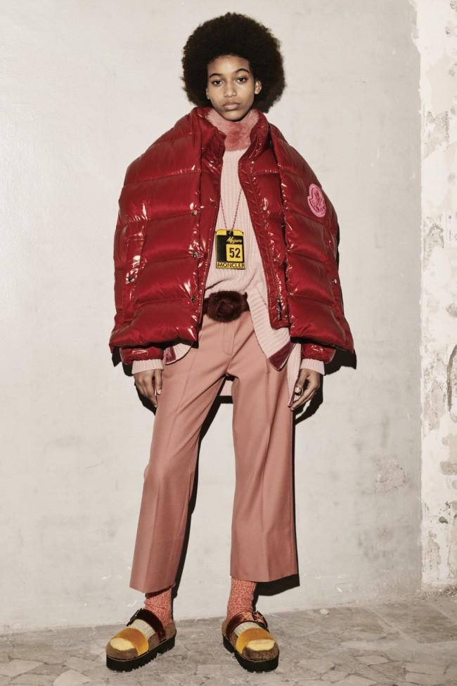 """Moncler Autunno Inverno 18-19 Milano Fashion Week by 1952, tendenze moda donna: il piumino. Progetto """"Genius"""""""