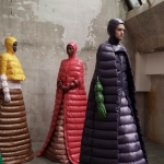 """Moncler Autunno Inverno 18-19 Milano Fashion Week by PierPaolo Piccioli, tendenze moda donna: il piumino. Progetto """"Genius"""""""