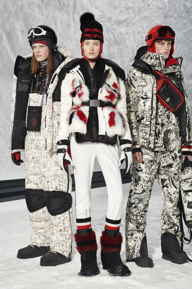"Moncler Autunno Inverno 18-19 Milano Fashion Week by Grenoble, tendenze moda donna: il piumino. Progetto ""Genius"""