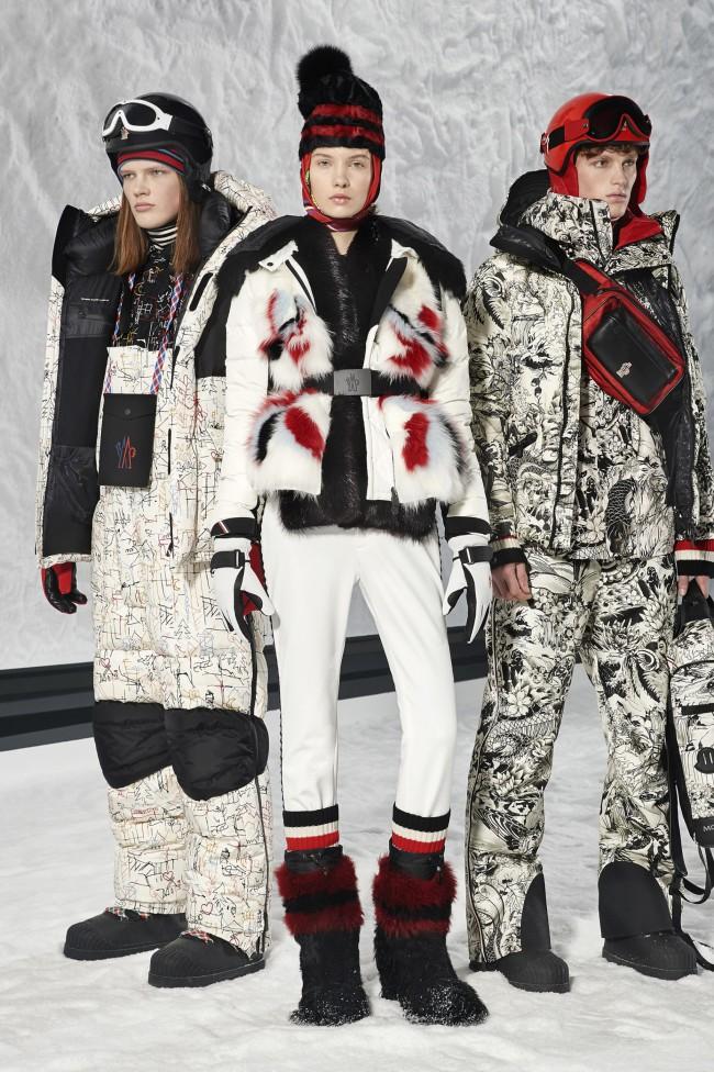 """Moncler Autunno Inverno 18-19 Milano Fashion Week by Grenoble, tendenze moda donna: il piumino. Progetto """"Genius"""""""