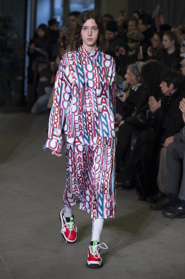 MSGM Autunno Inverno 18-19 Milano Fashion Week, tendenze moda donna