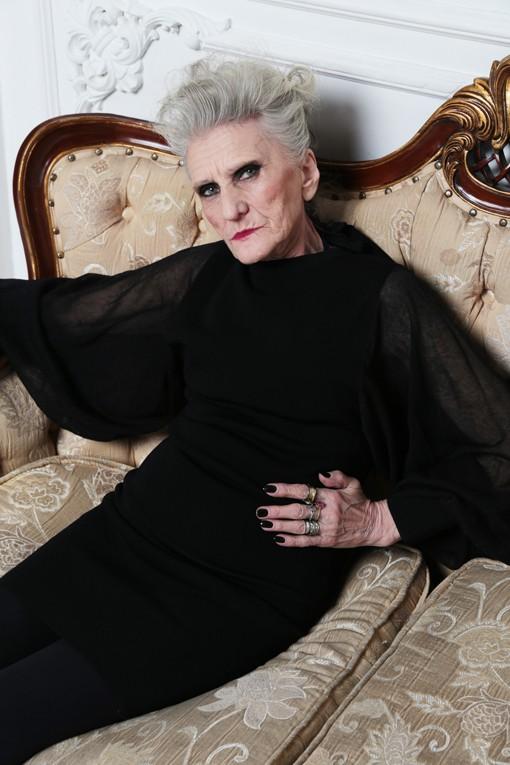 Valeriya, modella over 45 di 79 anni dell'agenzia Oldushka. QWEEX studio. Foto: Kirill Kolchanov