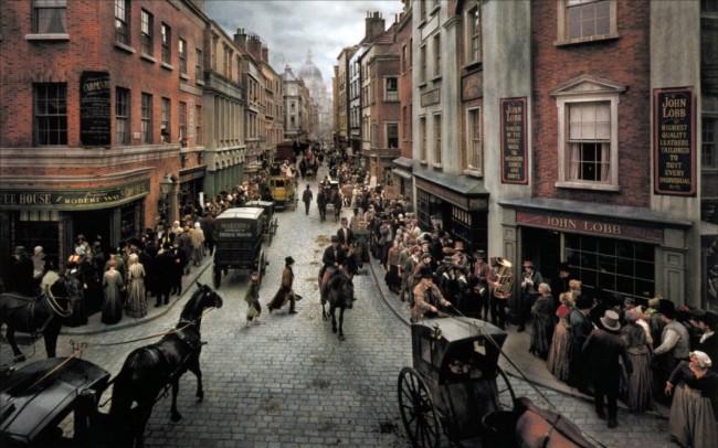 Oliver Twist, film di Roman Polański ambientato a Londra, tratto dal romanzo di Charles Dickens