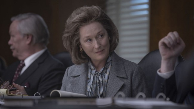 Oscar 2018 nomination Miglior attrice protagonista Meryl Streep nel film The Post