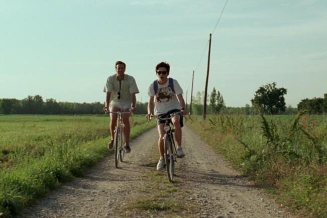 Armie Hammer e Timothée Chalamet in Chiamami col tuo nome, film candidato ai Premi Oscar come Miglior film