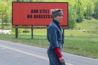 Oscar 2018 nomination Miglior attrice protagonista Frances McDormand nel film Tre Manifestanti a Ebbing, Missouri