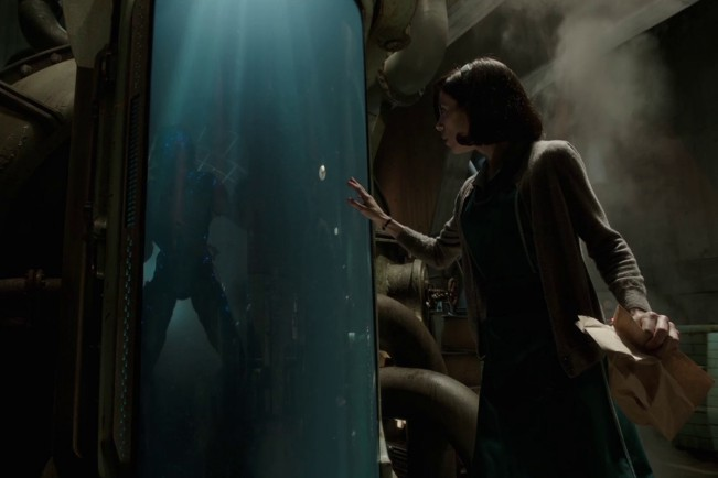 Sally Hawkins in La forma dell'acqua - The Shape of Water, film candidato ai Premi Oscar come Miglior film
