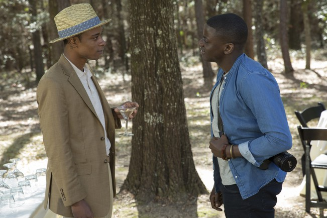 Lakeith Stanfield e Daniel Kaluuya in Scappa – Get Out, film candidato ai Premi Oscar come Miglior film