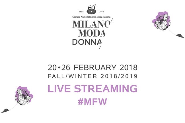 Calendario milano moda donna 20 26 febbraio 2018 thy for Settimana della moda milano 2018