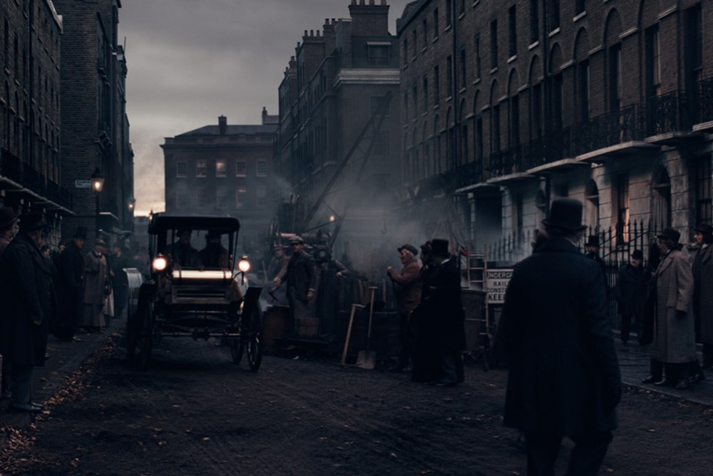Sherlock Holmes: A Game of Shadows, film con Robert Downey Jr e Jude Law nei panni del Dottor John Watson, film di Guy Ritchie. Set cinematografici a Londra