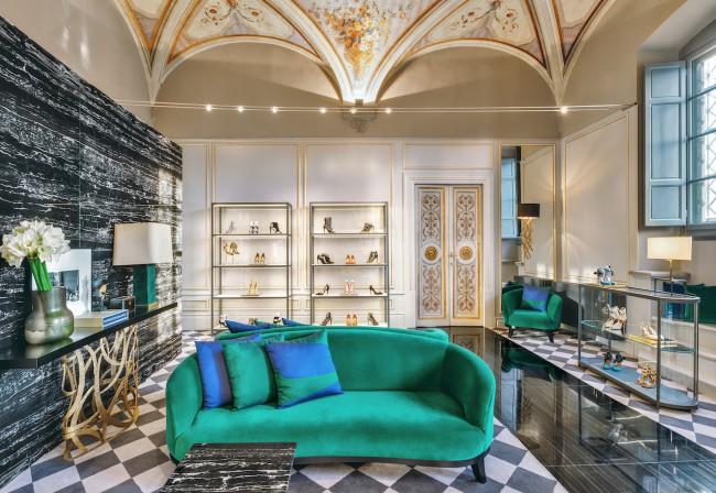 Aquazzurra di Edgardo Osorio apre le porte di Palazzo Corsini di Firenze per ApritiModa