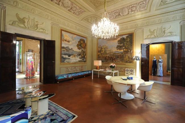 Emilio Pucci apre le porte di Palazzo Pucci di Firenze per ApritiModa