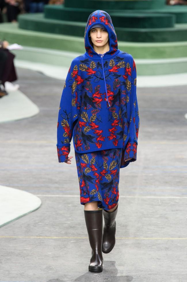 Lacoste Fall Winter 2018 Paris Fashion Week animali in via di estinzione. Collaborazione con l'Unione Internazionale per la Conservazione della Natura
