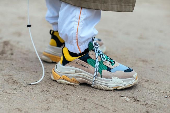 Triple S sneakers Balenciaga streetwear
