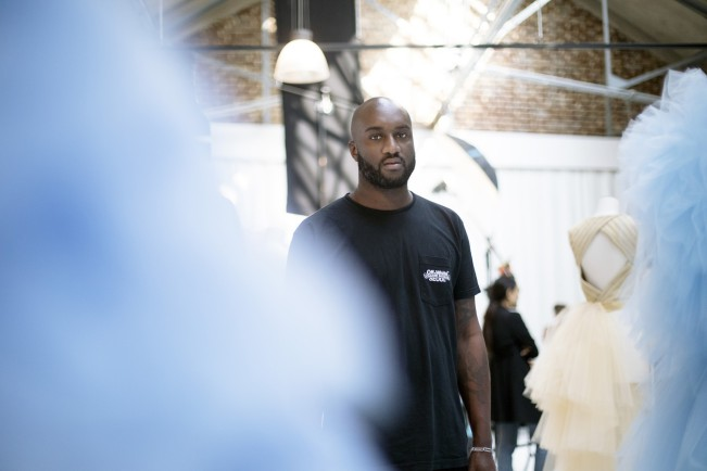 Virgil Abloh direzione Louis Vuitton. Photo: Alastair Nicol