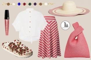 Il Thy Outfit per questi primi di giugno è in un rosa corallo e richiama il mare! Il look proposto è informale ed estivo, ispirato alla spiaggia, ma perfetto anche per la città.