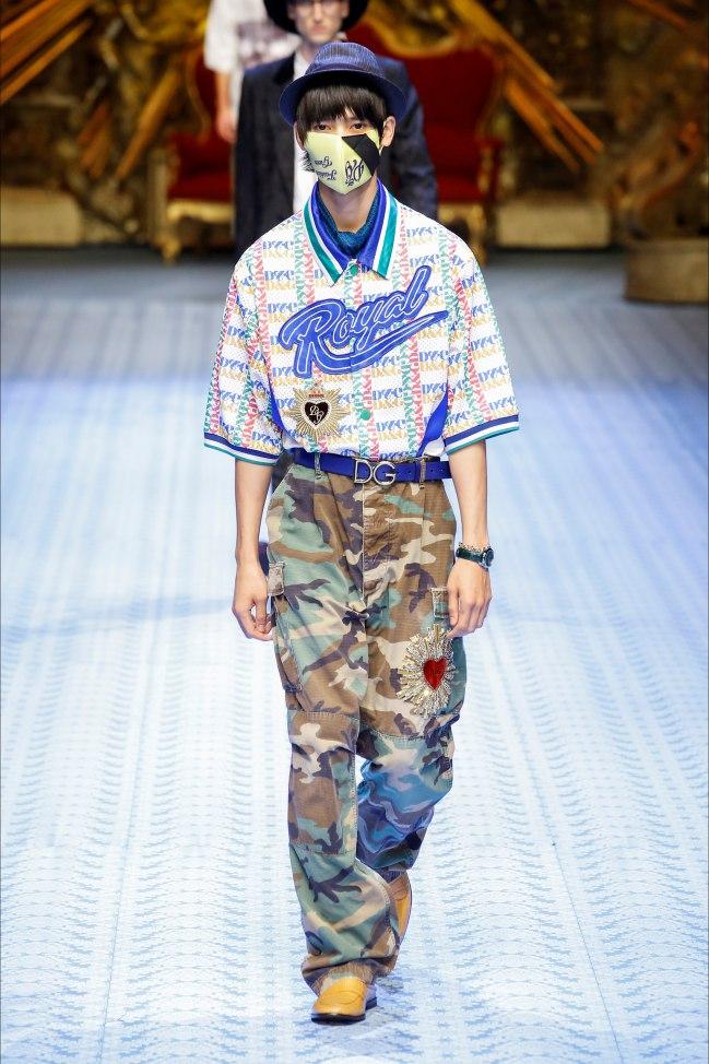 D&G Milano moda Uomo pe 2019