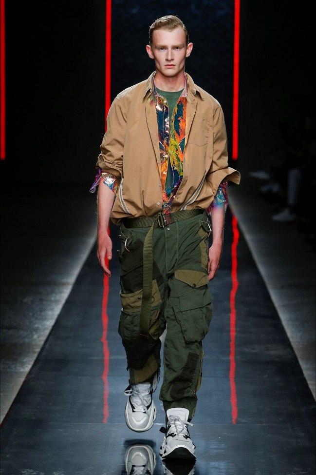 DSquared2 moda uomo pe 2019