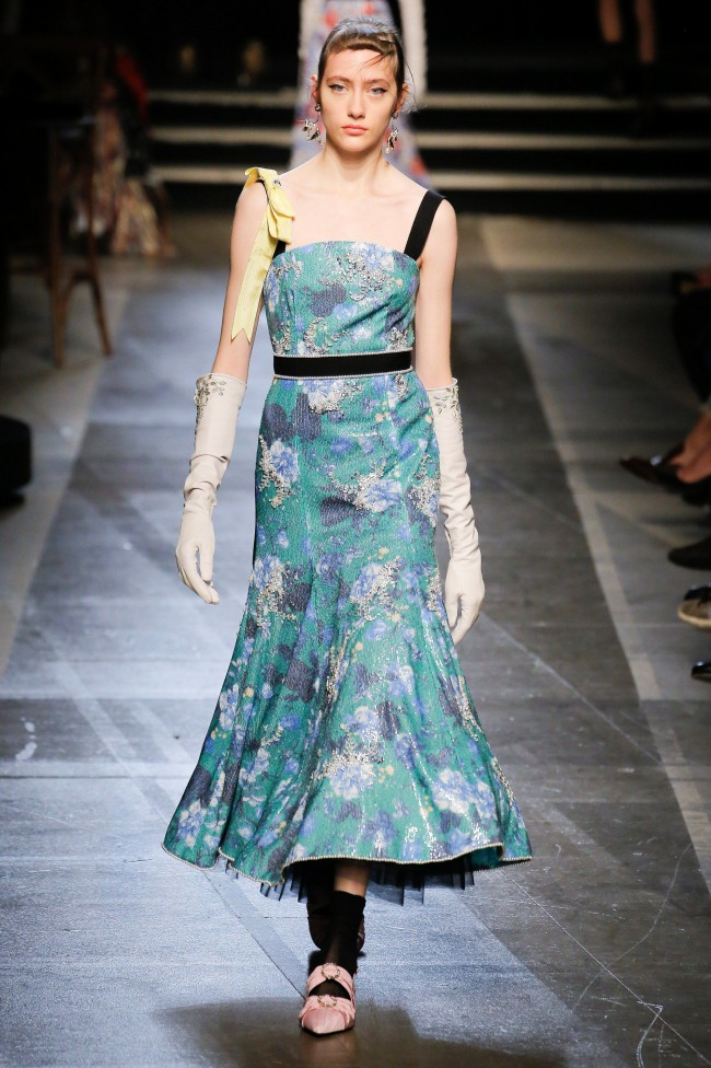 Erdem Spring Summer 2018 flowers mania tendenze estate 2018
