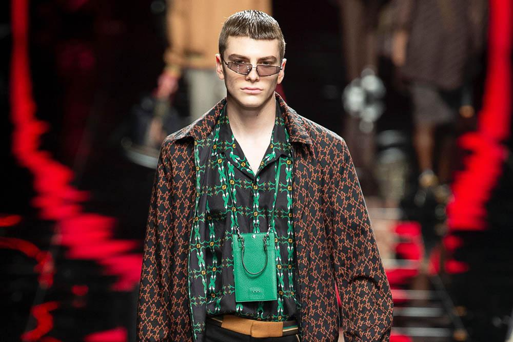 Fendi primavera estate 2019 moda uomo
