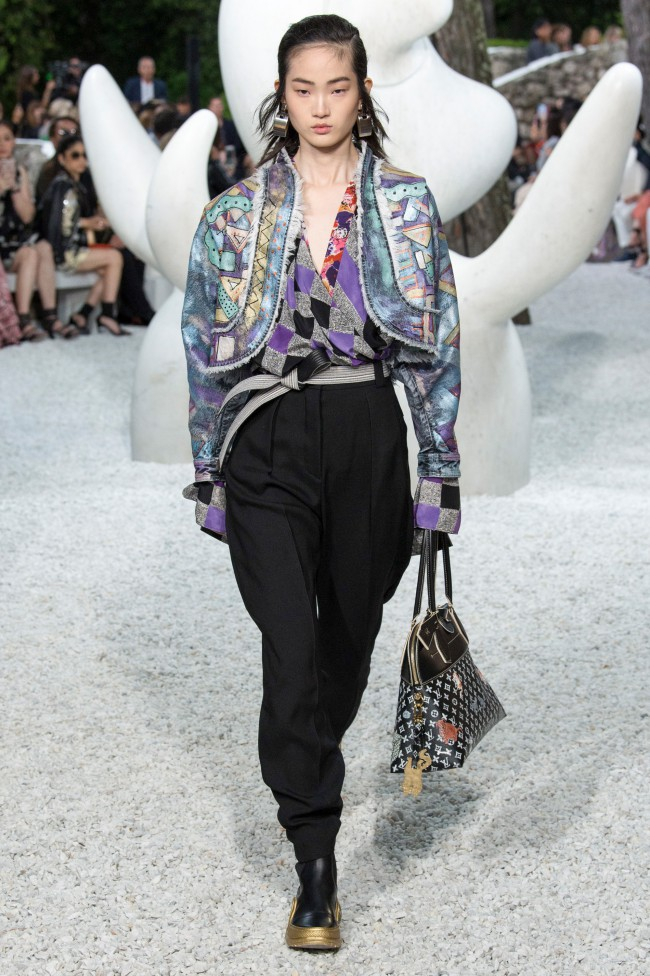 Louis Vuitton Resort Collection 2019 ghesquière mirò giacometti