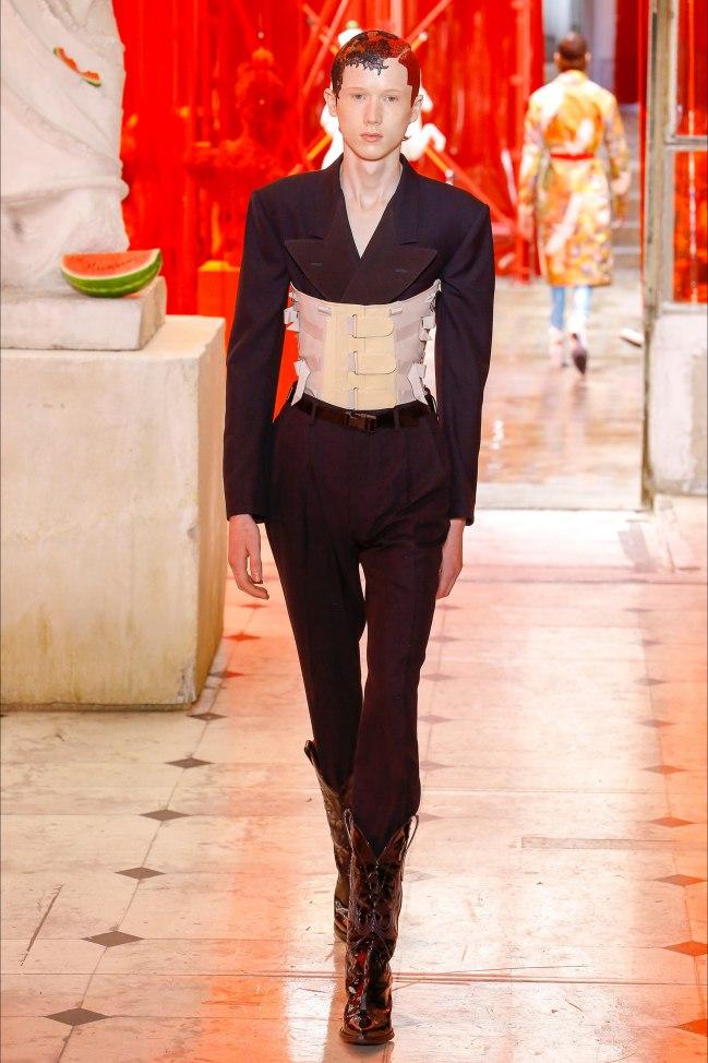 Margiela fashion week men ss 2019