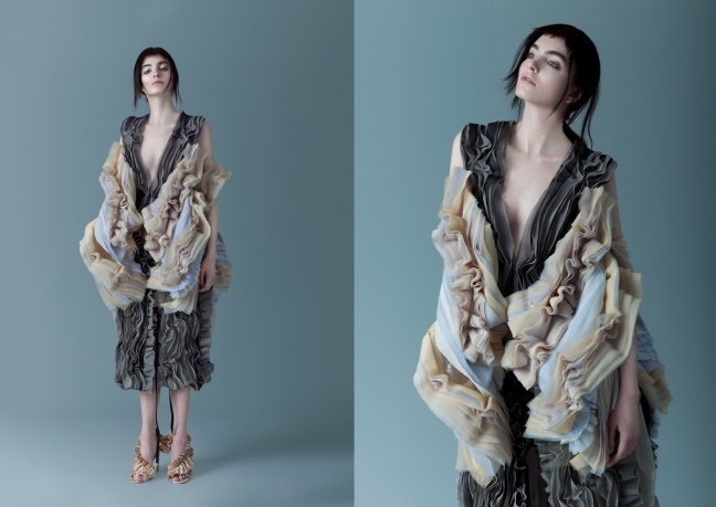 Traces Womenswear Collection by Rong Zhang - Vincitore dell'A' Design Award di Platino per la categoria: Fashion, Apparel and Garment Design 2017