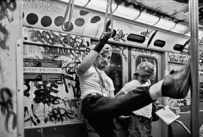 New York, 1985 © Ferdinando Scianna
