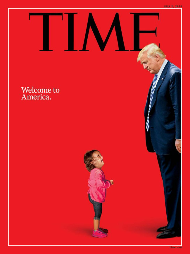 Donald trump time magazine cover luglio