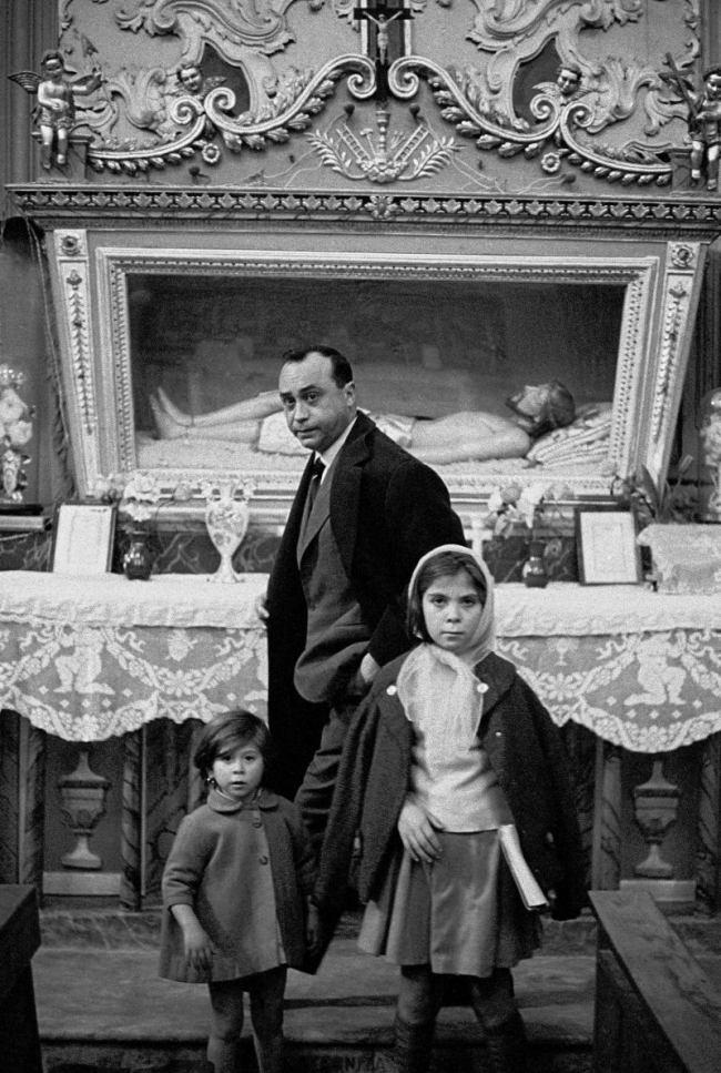 Leonardo Sciascia. Racalmuto, 1964 - Ferdinando Scianna