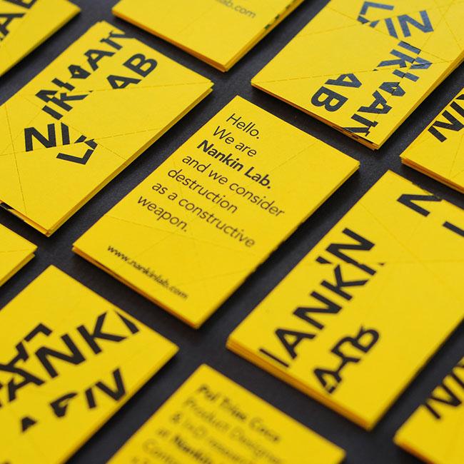 Nankin Lab Corporate Design by Pau Garcia and Pol Trias