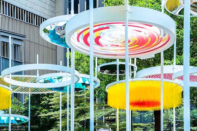 PLAYOHO Art Pavilion by Ricci Wong Cheuk-Kin