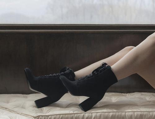 Anca Stetco, amore per le calzature