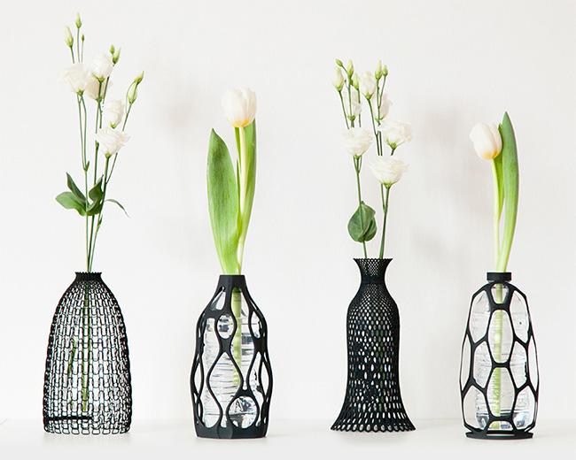 Collezione vasi stampati in 3D - Silhouette Collection Vase by Libero Rutilo