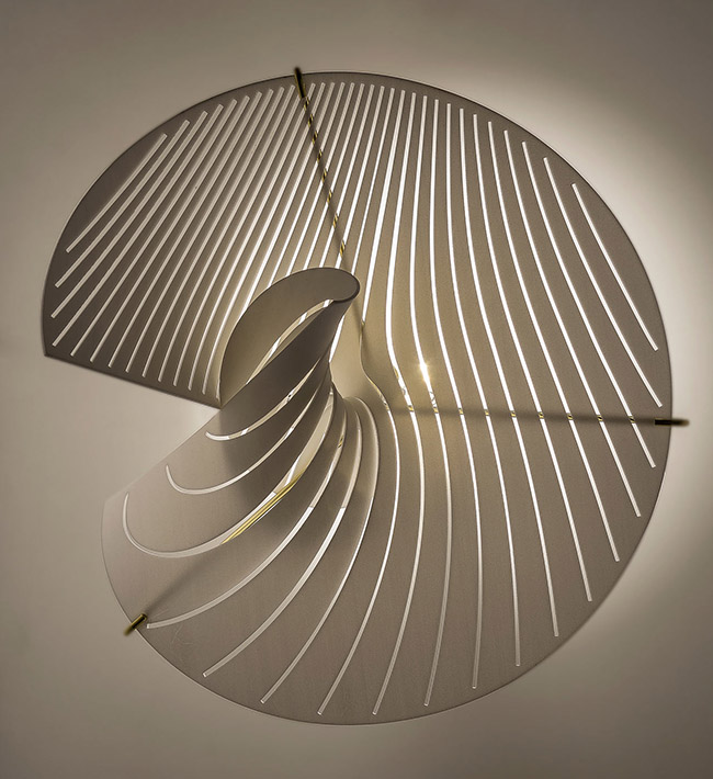mus2 Wall Lamp by Andrea Macruz. A' Design Award & Competition – Call for Submissions