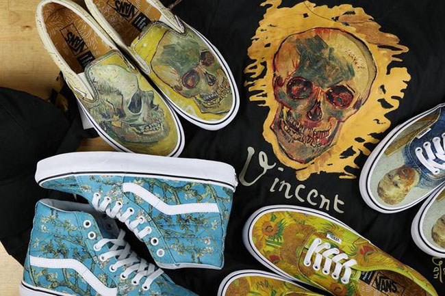 Vans collaborazione Vang Gogh Museum