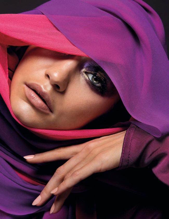 Gigi Hadid Vogue Arabia photographed by Inez and Vinoodh