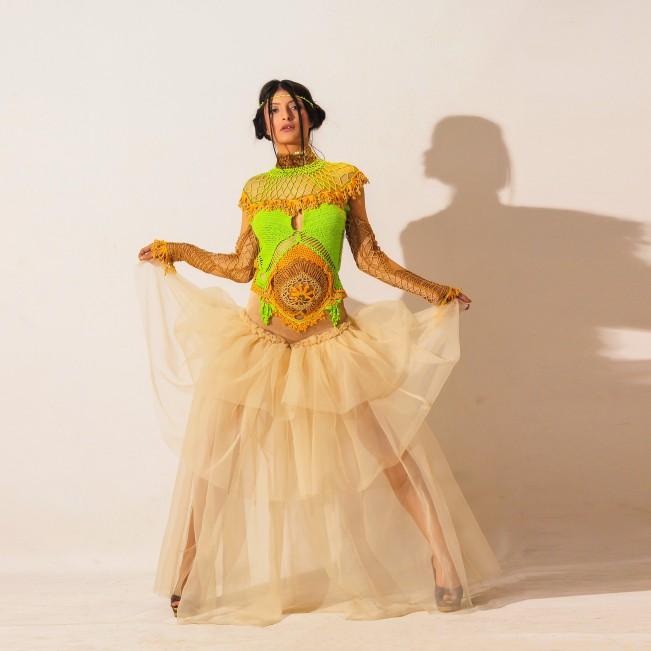 Lacy magic Women's dress by Serap Safiye Yıldız