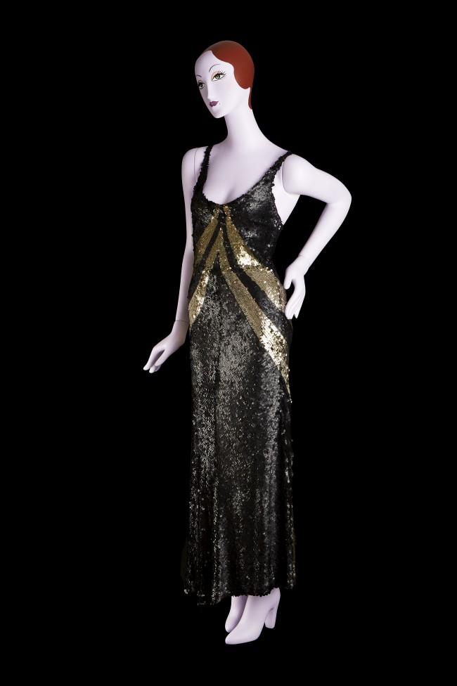 """Moda anni trenta nella mostra """"Night & Day: 1930's Fashion and Photographs"""" al Fashion and Textile Museum di Londra. Photo: Bethany Crutchfield"""