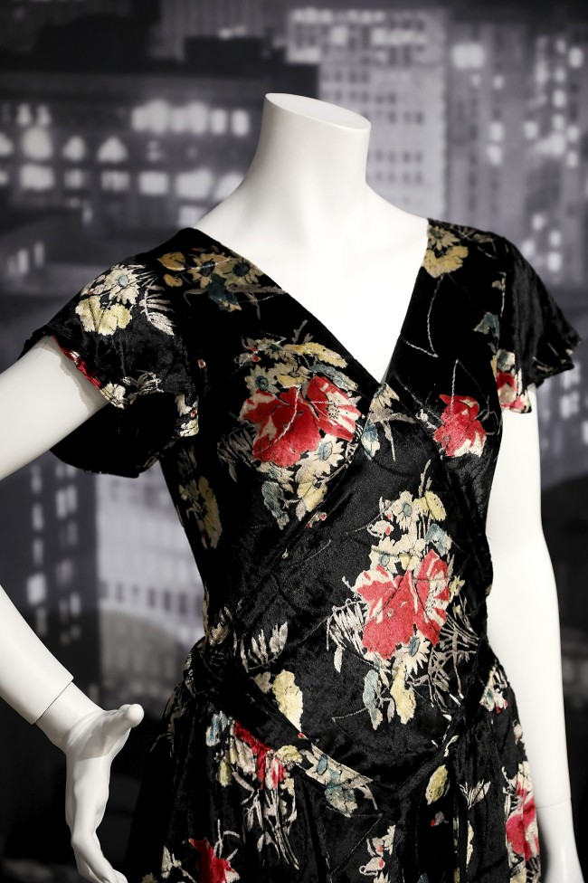 "Moda anni trenta nella mostra ""Night & Day: 1930's Fashion and Photographs"" al Fashion and Textile Museum di Londra."