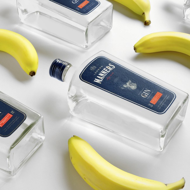 Gin Manners Gin Bottle by Estudio Maba