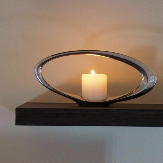 Oculars Candle Holder by Simon Colabufalo