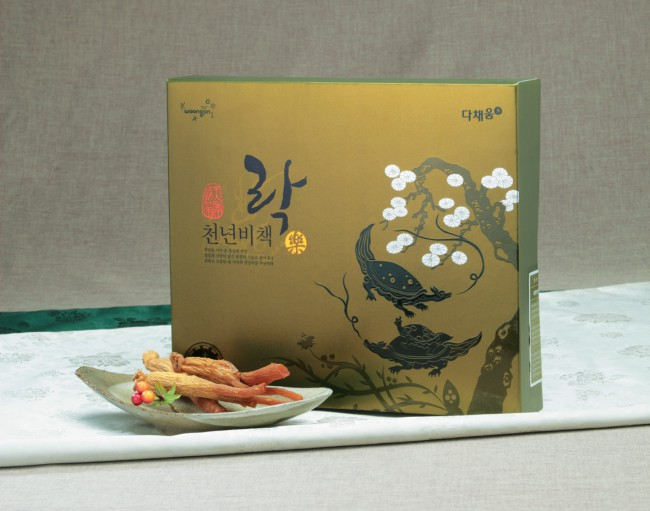 Secret plan for a thousand years Healty Foods by Woongjin Food Design Team