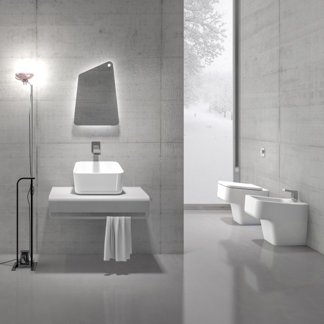 Up Bathroom Collection by Emanuele Pangrazi