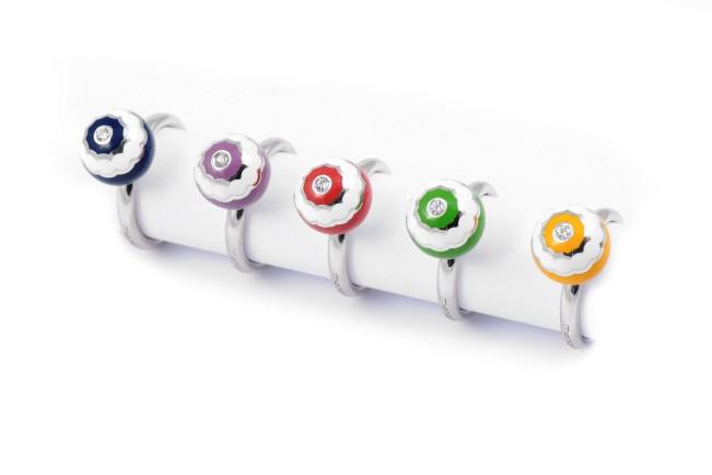 Manigiò Lab 925 anelli PomPon in argento